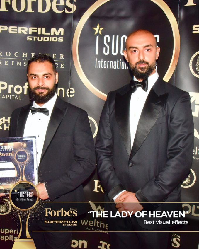 """The Lady of Heaven won the ,,Best Visual Effects""""  Award at I Success Gala – Cannes edition"""