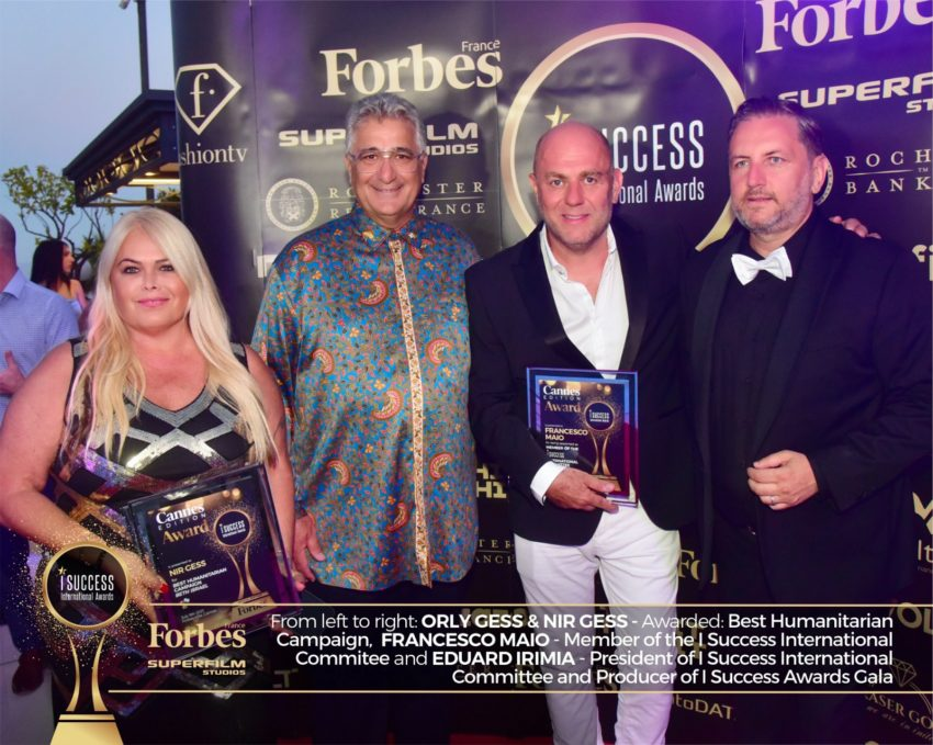 "Francesco Maio a fost numit ,,Member of the I Success international committee"" la gala I Success Awards – Cannes Edition"